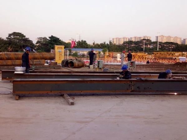 支援环保新发展:固力士继续挺进新上星泵站工程