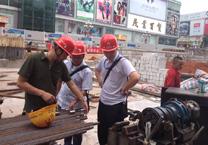 固力士钢筋套筒深圳地铁工地使用
